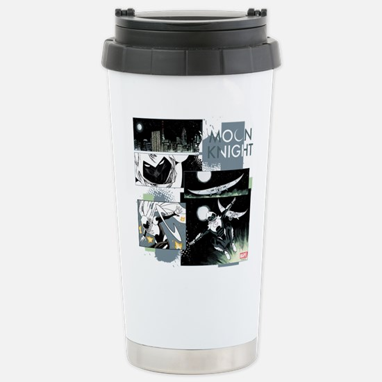 Moon Knight Panels Stainless Steel Travel Mug