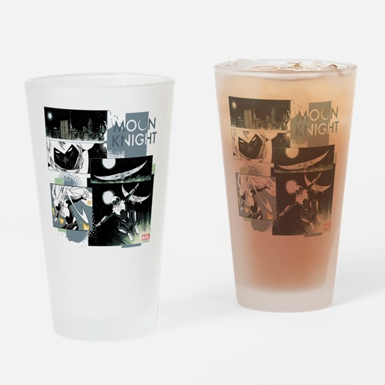 Moon Knight Panels Drinking Glass