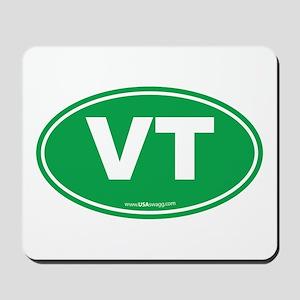Vermont VT Euro Oval GREEN Mousepad