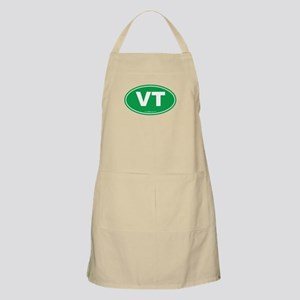 Vermont VT Euro Oval GREEN Apron