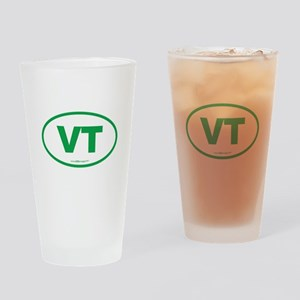 Vermont VT Euro Oval GREEN Drinking Glass