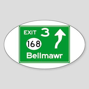 NJTP Logo-free Exit 3 Bellmawr Sticker