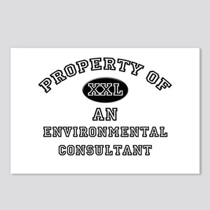 Property of an Environmental Consultant Postcards