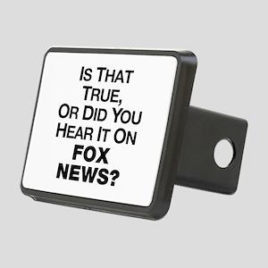 True or Fox News? Rectangular Hitch Cover