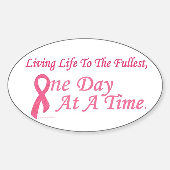 One Day At A Time 2 (BC) Oval Decal