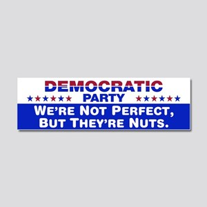 Democrats: We're Not Perfect, But They're Nuts Car