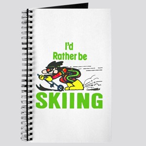 I'd Rather Be Skiing - Journal