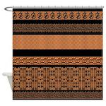 African Pattern Mix Designer Shower Curtain