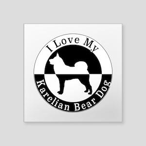 Karelian Bear Dog Sticker
