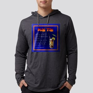 Blue Mai Tai Long Sleeve T-Shirt