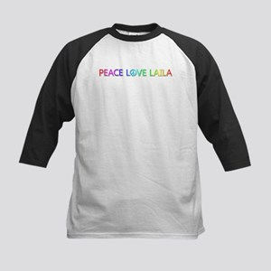 Peace Love Laila Baseball Jersey