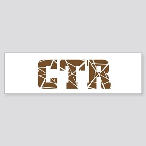 "CTR ""Choose the Right"" Bumper Sticker"