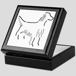 Irish Setter Sketch Keepsake Box