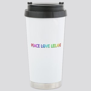 Peace Love Leilani Stainless Steel Travel Mug