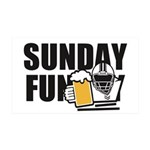 Sunday Funday Wall Decal