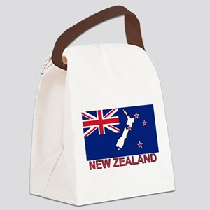 nz-flag-extra Canvas Lunch Bag