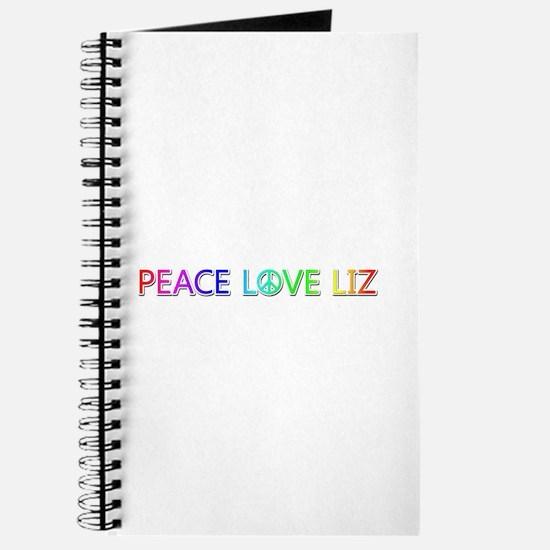 Peace Love Liz Journal