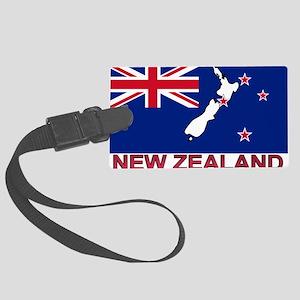 nz-flag-extra Large Luggage Tag