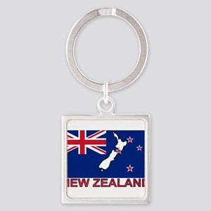 nz-flag-extra Keychains