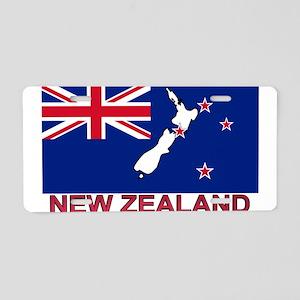 nz-flag-extra Aluminum License Plate