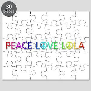 Peace Love Lola Puzzle