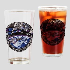 SpX 8 Logo Drinking Glass