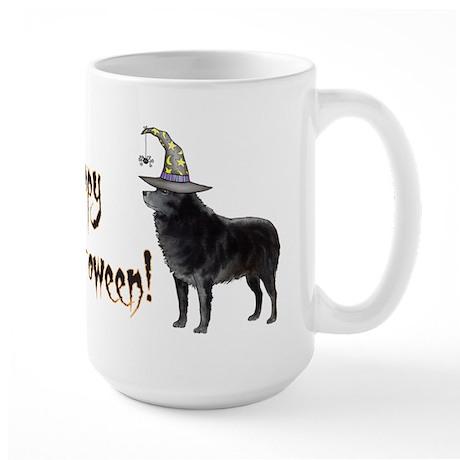 Halloween Schipperke Large Mug