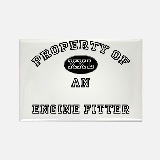Property of an Engine Fitter Rectangle Magnet
