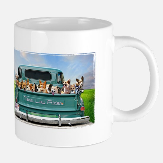 Corgi Pick Up Truck Mugs