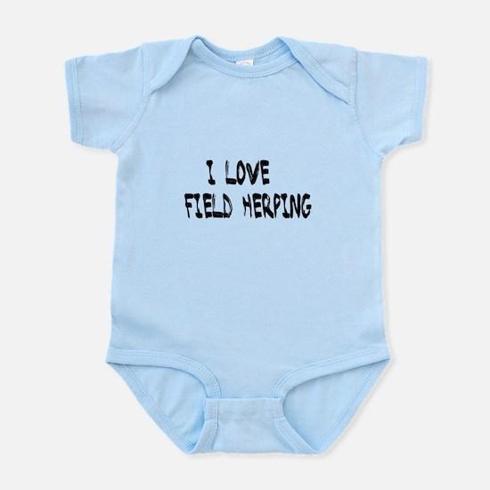 I love field herping Body Suit