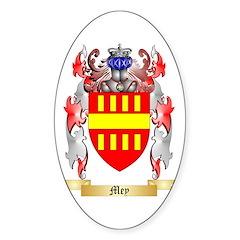 Mey Sticker (Oval 10 pk)