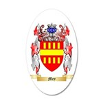 Mey 20x12 Oval Wall Decal