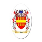Mey 35x21 Oval Wall Decal