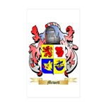 Mewett Sticker (Rectangle 50 pk)