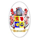 Mewett Sticker (Oval)