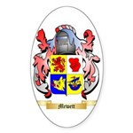 Mewett Sticker (Oval 50 pk)