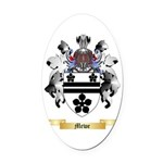 Mewe Oval Car Magnet