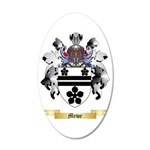 Mewe 35x21 Oval Wall Decal