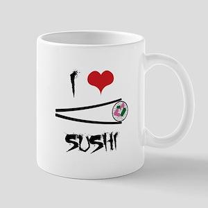 I Love Sushi Mugs