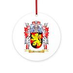 Metschke Round Ornament