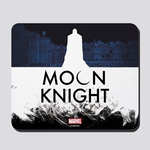 Moon Knight Silhouette Mousepad