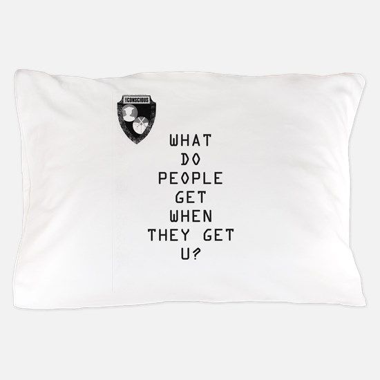 Cute That%27s what people do Pillow Case