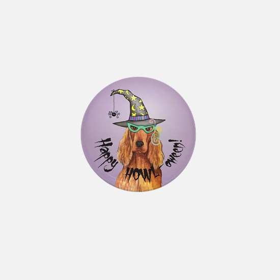Halloween Irish Setter Mini Button