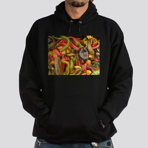 many different peppers Hoodie (dark)