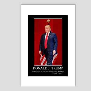 Donald Trump, Think Big Postcards (Package of 8)