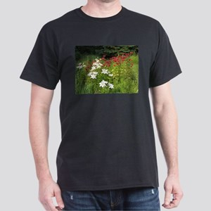 Red & White Holiday Flowers T-Shirt