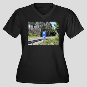 El Camino walker sign, Spain Plus Size T-Shirt