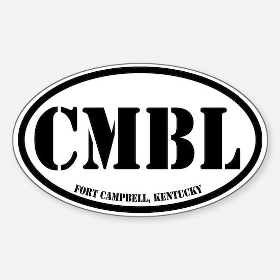 Fort Campbell, Kentucky Sticker (Oval)