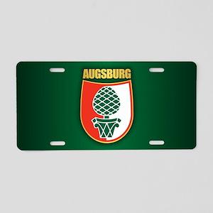Augsburg Aluminum License Plate