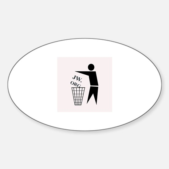 JW ORG Garbage Can Decal